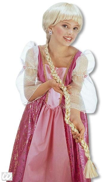 Rapunzel Kids Wig blond