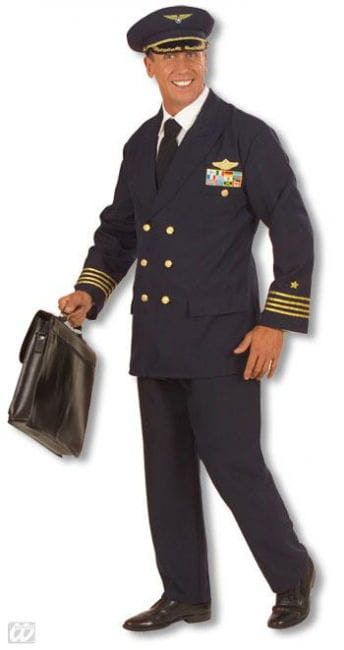 Pilots Uniform Costume. L