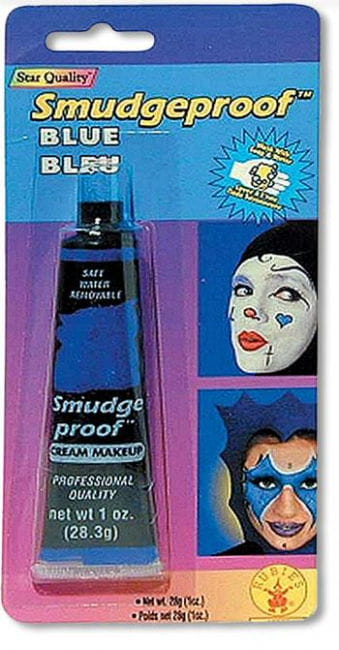 Wischfestes Creme Make Up Blau