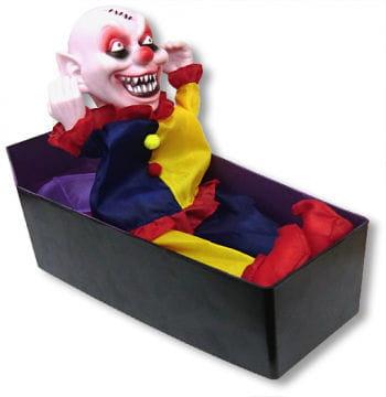 Clown in Coffin Animatronic