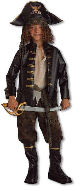 Mutiger Piratenkapitän Kinderkostüm