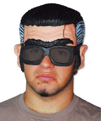 Rock n Roll Zombie Half Mask