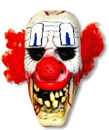 Chucklehead Clown Maske