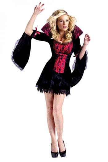 Midnight Mistress Costume ML