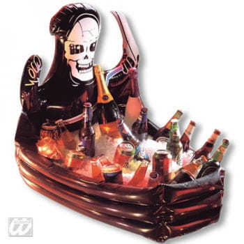 Beverage coolers in coffin shape