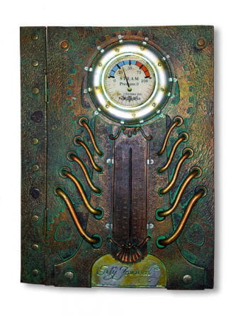 "Steampunk Notebook ""My Journal"""