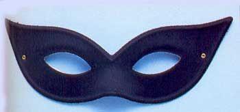 Harlequin Mask Black