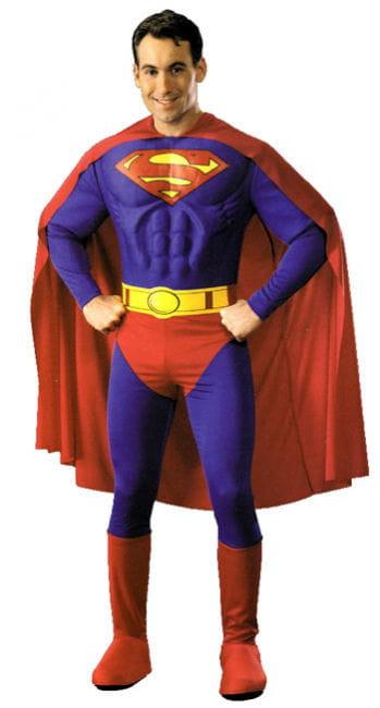 Superman Muskel Kostüm