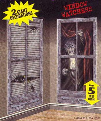 Creepy Visitors Wall Films
