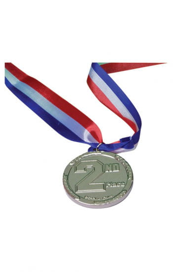 2nd place medal silver