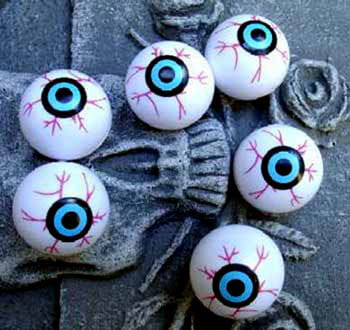 Plastic eyeballs Pongball eyes