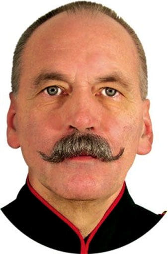 Real Hair Beard Wilhelm black
