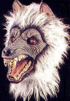 Wilder Wolf Maske