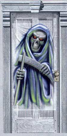 Reaper door sheet