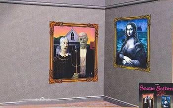Geister Gallery Wandfolie