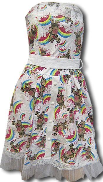 Horror Bear Dress ML