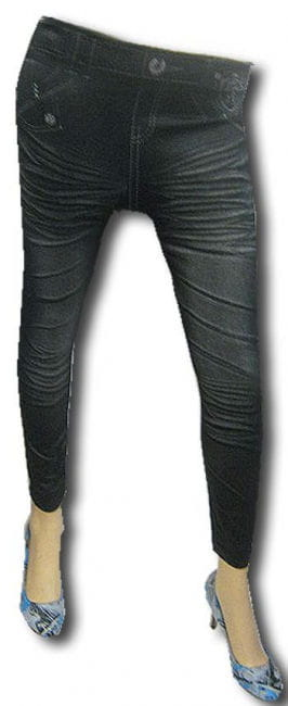 Leggings Jeans Look
