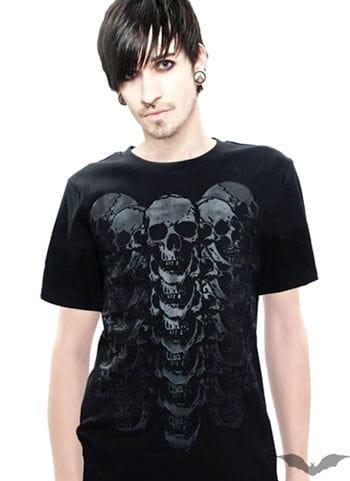 Skull T Shirt Size XL