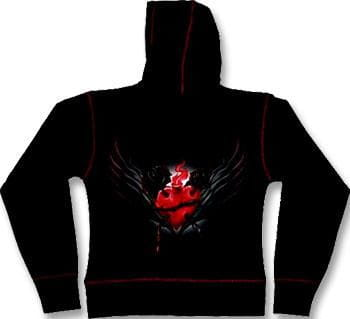 Sacred Heart Girly Hoody M