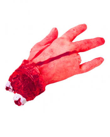 Severed right hand