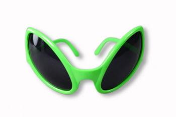 Alien Brille grün