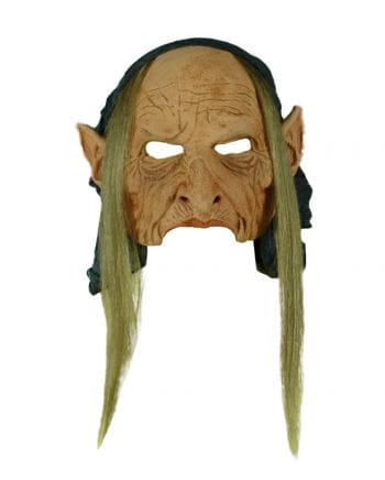 Alte Zigeunerin Latex-Maske