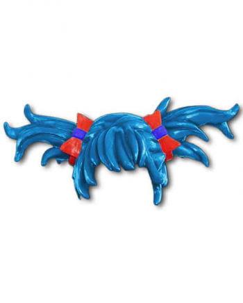 Anime wig braids blue
