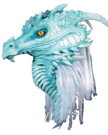 Arctic Blue dragon mask