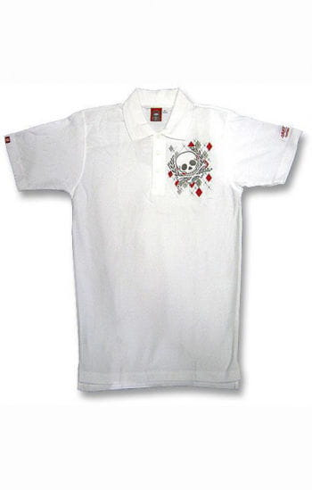 Argyll Diamond and Skull Polo Shirt S