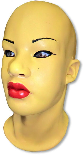 Asia Girl Foam Latex Mask