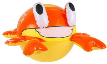 Aufblasbare Krabbe
