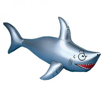 Inflatable White Shark