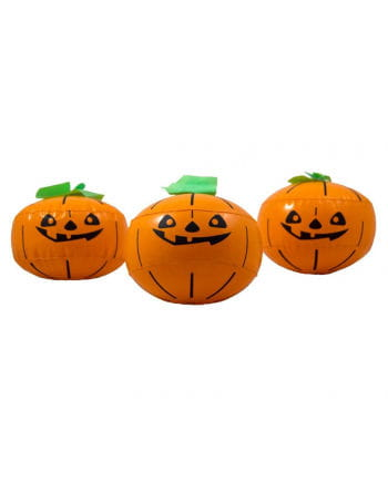 Aufblasbarer Halloween Kürbis 3er Set