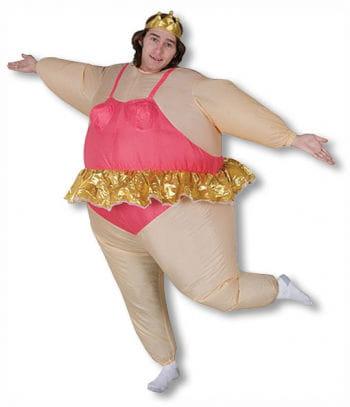 inflatable ballerina costume
