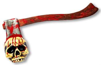 Axe with Skull