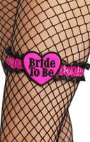Bachelorette Garter with Heart
