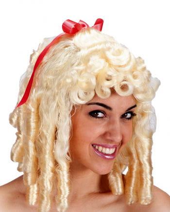 Baroque Wig Josephine Blond