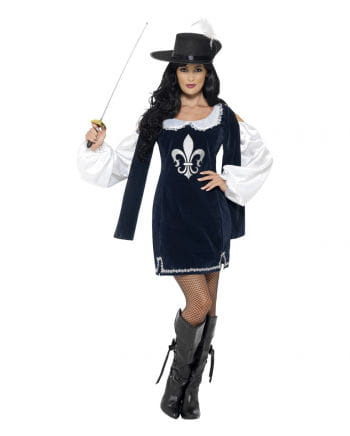 Musketeer Baroque costume for women