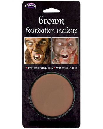 Halloween Basis Make-up braun