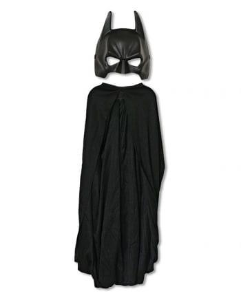 Batman Maske mit Cape