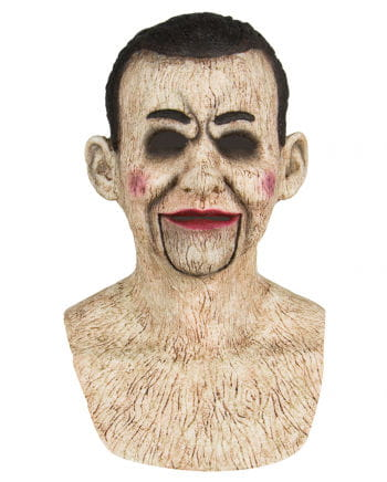 Ventriloquist doll silicone mask