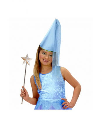 Kinder Feen-Spitzhut blau