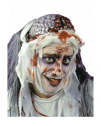 Blutendes Zombie Gehirn