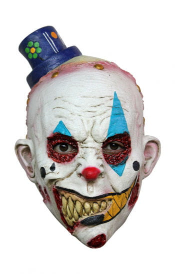 Böser Clown Kindermaske