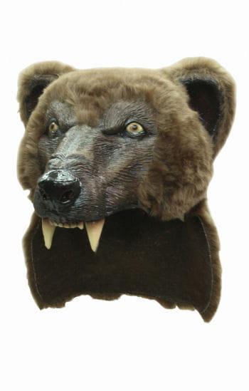 Brown Bear Helmet