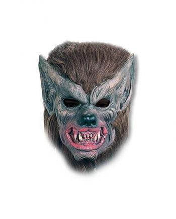 braune Werwolf Maske