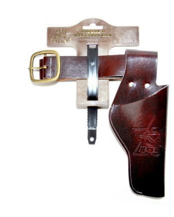 Brauner Revolvergürtel