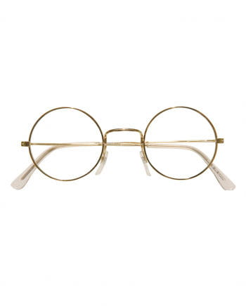 Glasses with round lenses