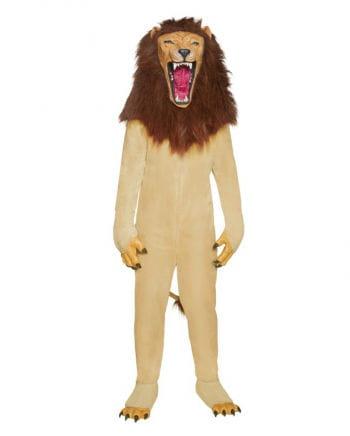 Roaring lion costume