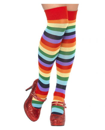 Clown knee socks